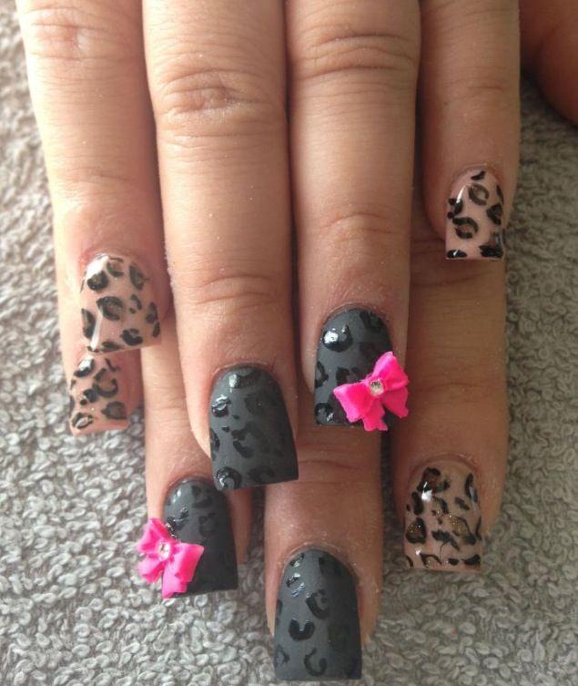 50 Cheetah Nail Designs Cheetah Nails Cheetahs And Girls