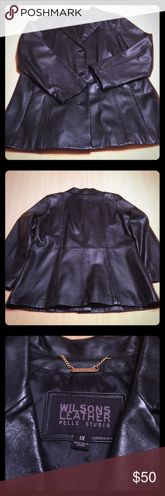 Wilsons Leather Pelle Studio Jacket Wilsons leather