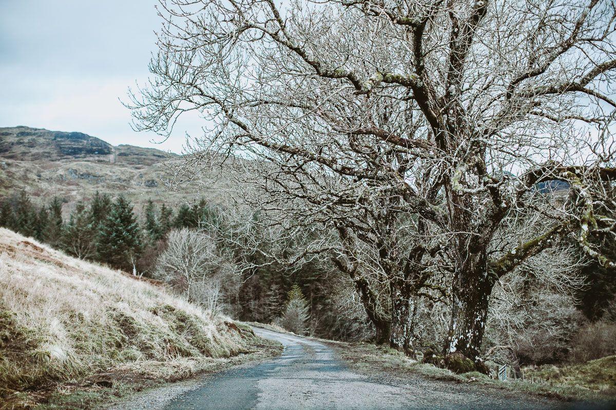 Roadtrip in the Scottish Highlands