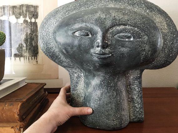 Rare 1969 Paul Bellardo Monumental Head By CaribeCasualShop