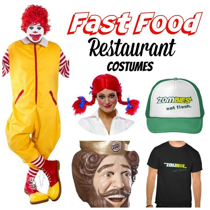 fast food costumes are hilarious for halloween live out those fastfood dreams with these cool halloweencostumes