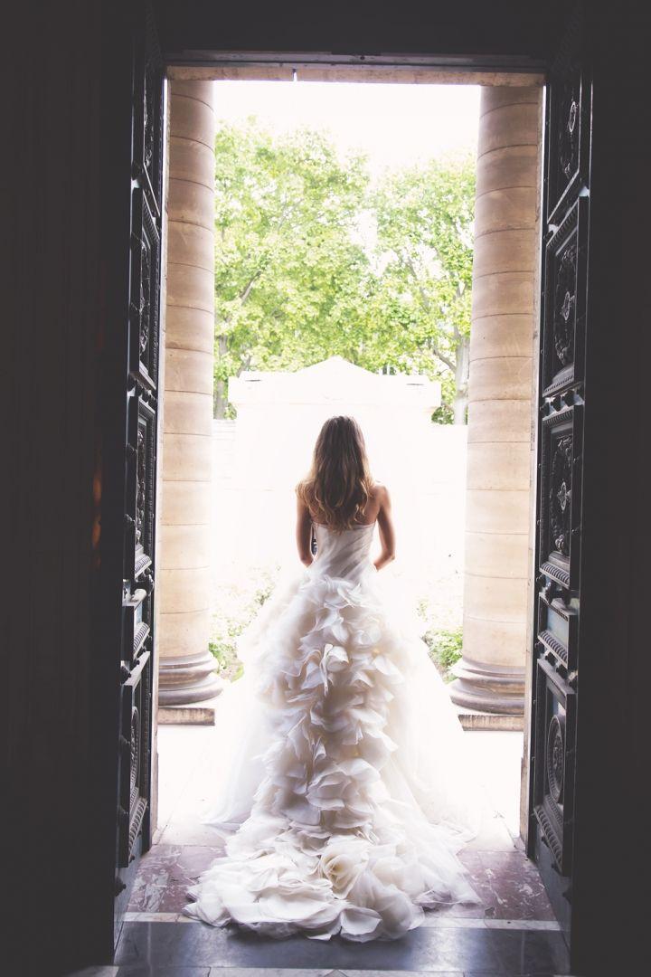 Elope in Paris - destination wedding French Style - Chapelle Expiatoire yolanda villagran photography