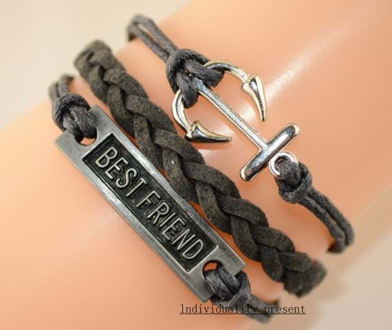 Best Friend Bracelet Anchor By Individualitypresent 3 99