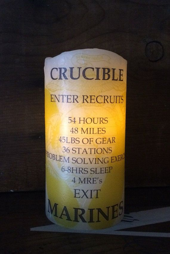 picture relating to Crucible Candle Printable called United Suggests Maritime Corps (USMC) Crucible Candle Electronic