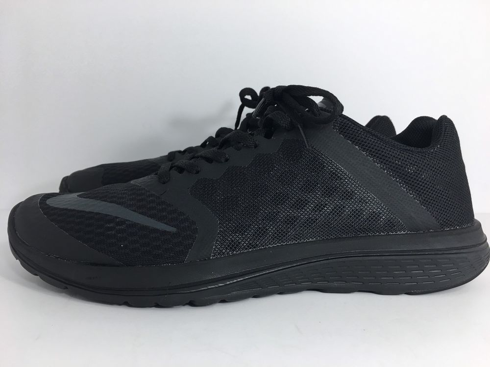 competitive price ac5a5 b4b99 Nike Women s FS Lite Run 3 Running Shoes 807145-010 SIZE 10 US Triple Black    eBay