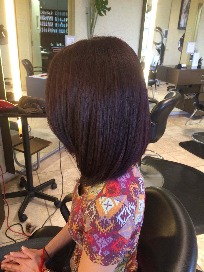 Plum lob june hair by shannon stish hair pinterest hair