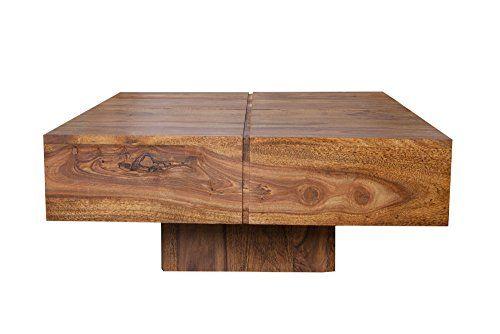 Holz Wohnzimmertisch ~ Cravog couchtisch holz cm sheesham tisch massivholz