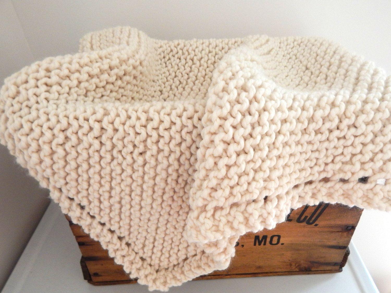 Chunky Crochet Baby Blanket Knit Baby Blanket Stroller