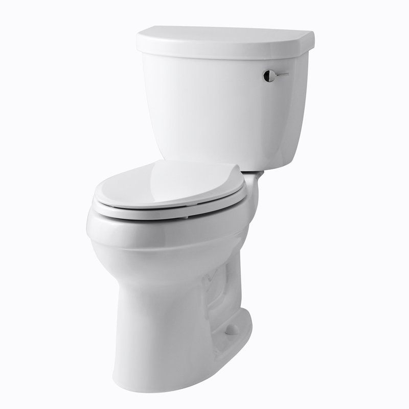 Cinamarron Two Piece Elongated 1 6 Gpf Toilet With Right Hand Trip