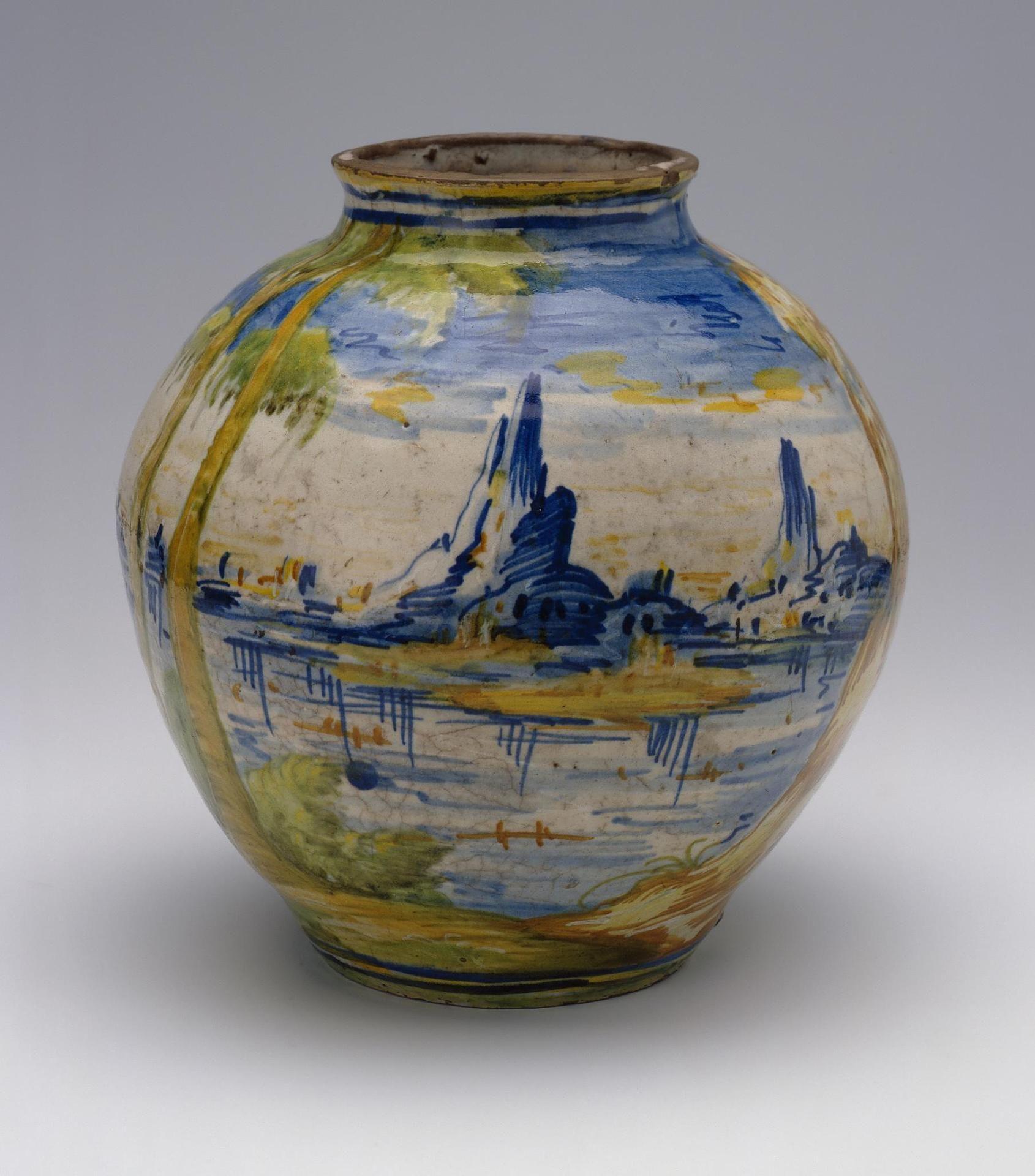 Art Works Majolica Pottery Italian Ceramics Majolica