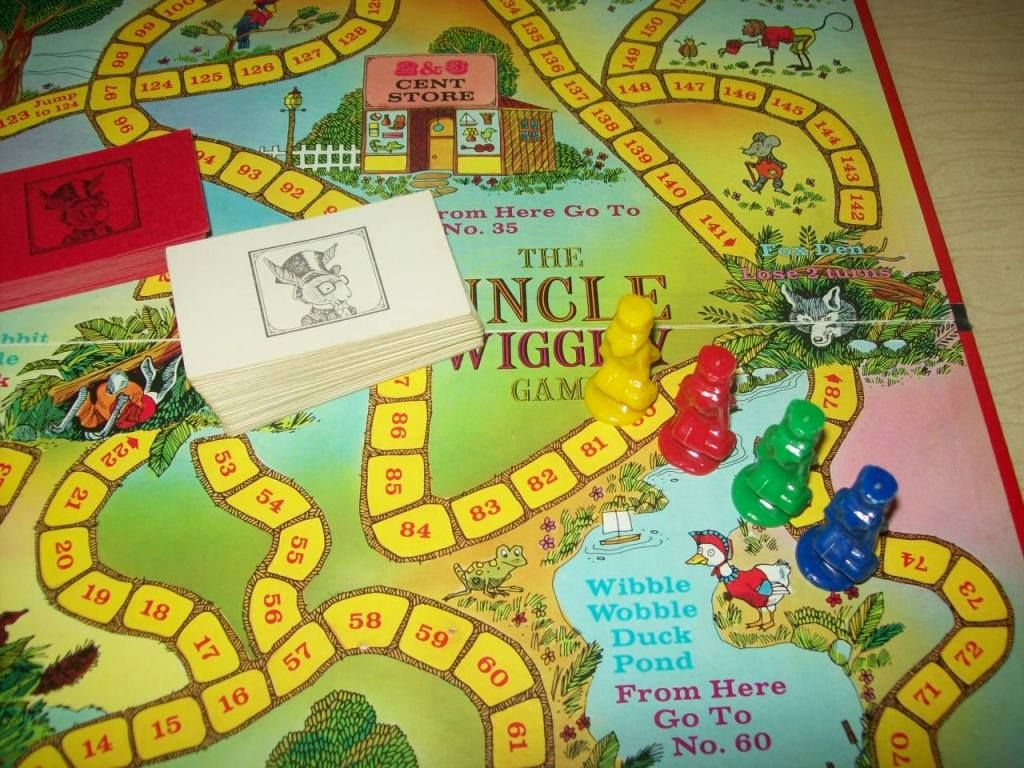 Uncle Wiggly Game With Hard Plastic Rabbit Game Pieces My Childhood Memories Childhood Memories My Childhood