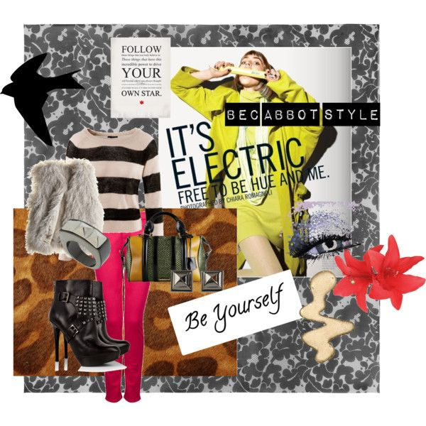 free to BE, created by #becabbotstyle on polyvore