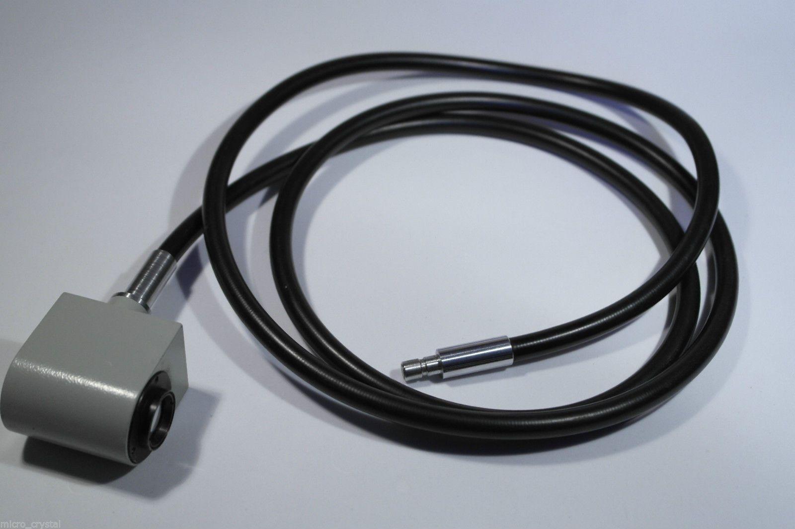 Carl zeiss jena microscope fiber optic light guide part illuminator