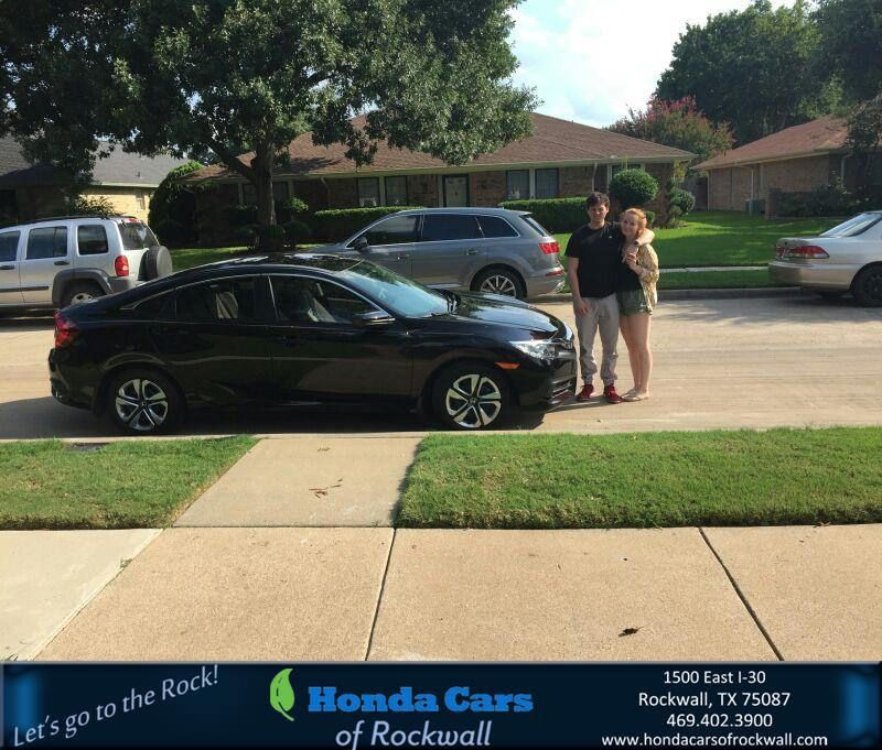 https://flic.kr/p/LQdaYe | Congratulations Msttew on your #Honda #Civic Sedan…