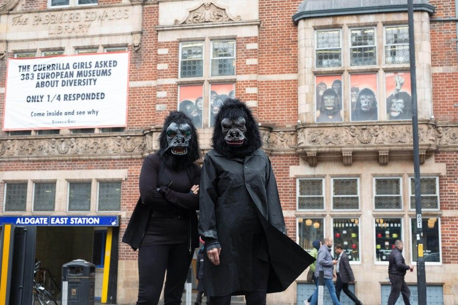 Whitechapel Gallery Guerrilla Girls Commission: Is it even worse in Europe?, 2016 - 'Guerrilla Girls' y 'Riot Grrrls': contra el sexismo en el arte - 20minutos.es