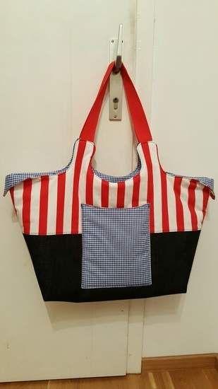 EBook Tasche BigSummer | Strandtaschen, Makerist und Nähen