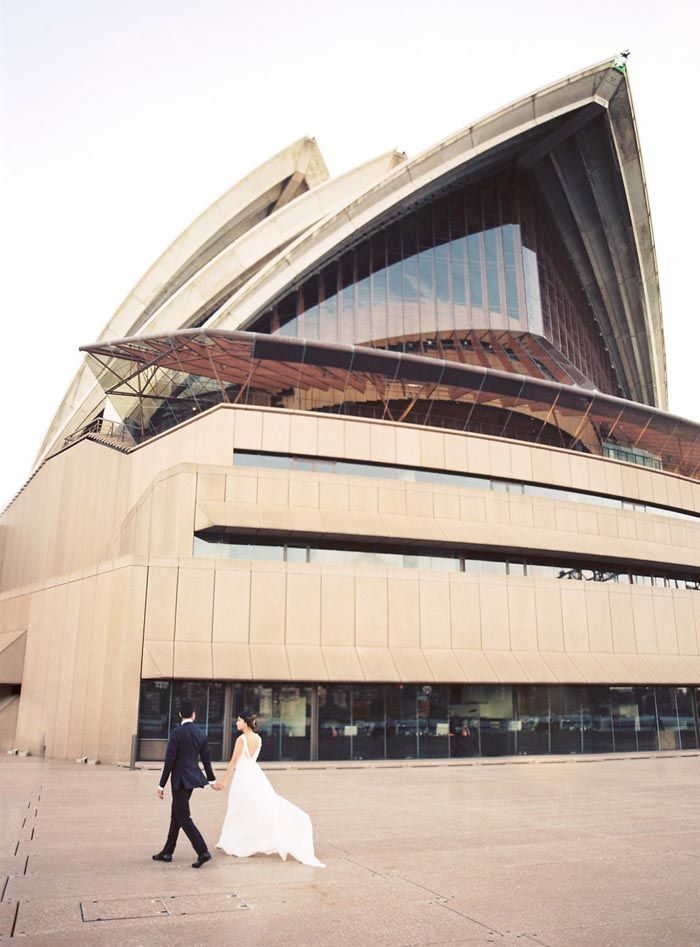 Sydney Opera House Wedding Credits In Comment