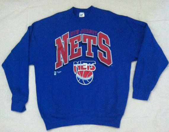 the best attitude 1b964 728c9 New Jersey Nets vintage crewneck sweatshirt by ...