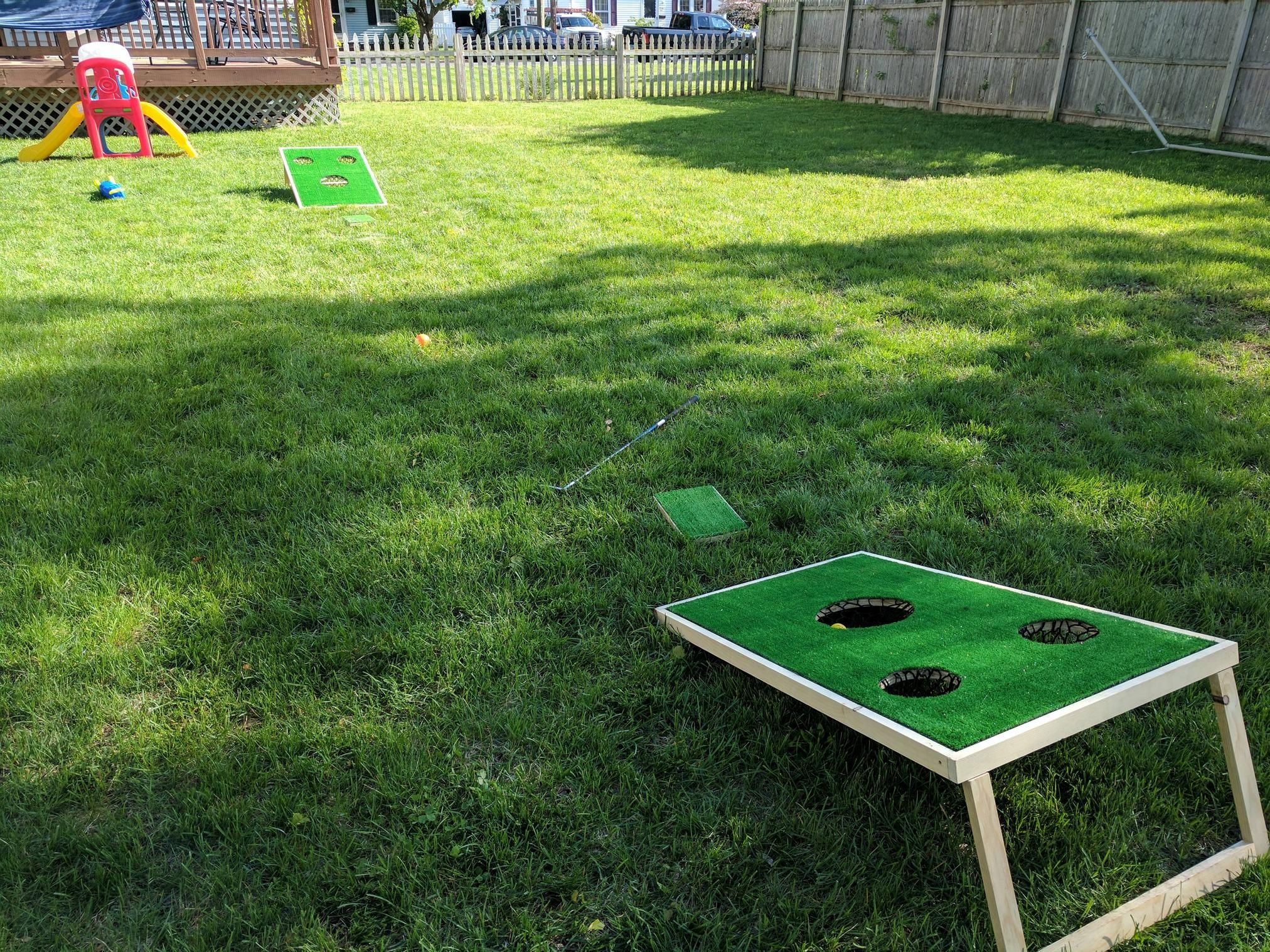 Chippo Golf Game Build (QuickCrafter) Golf diy