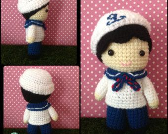 Amigurumi Boy Doll Pattern : Crochet pattern doll: girl doll crochet pattern amigurumi olivia