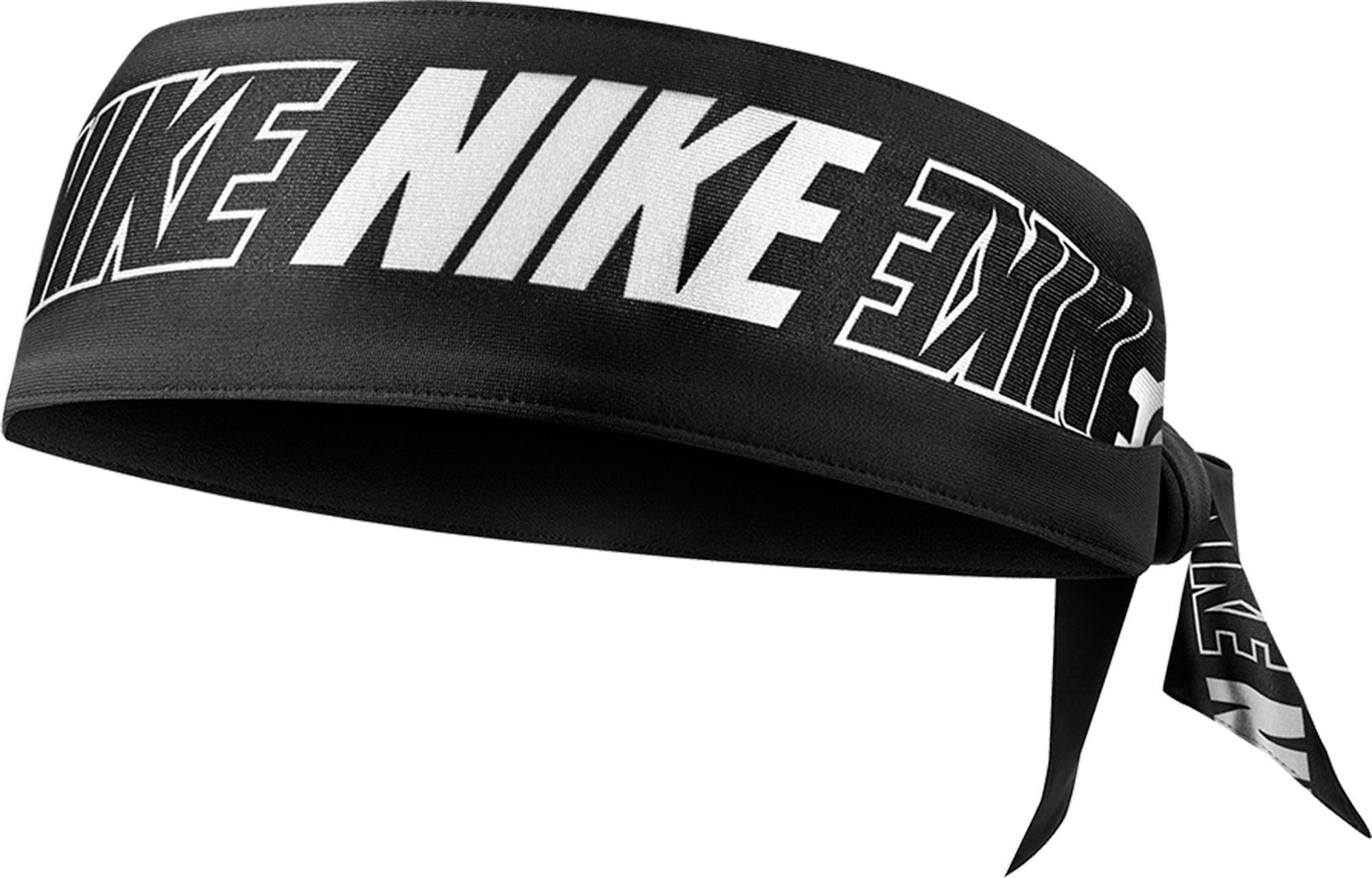 Propiedad Admitir cuello  Nike Printed Dri-FIT Head Tie, Men's, Black/Black/White | Nike tie  headbands, Nike headbands, Nike women