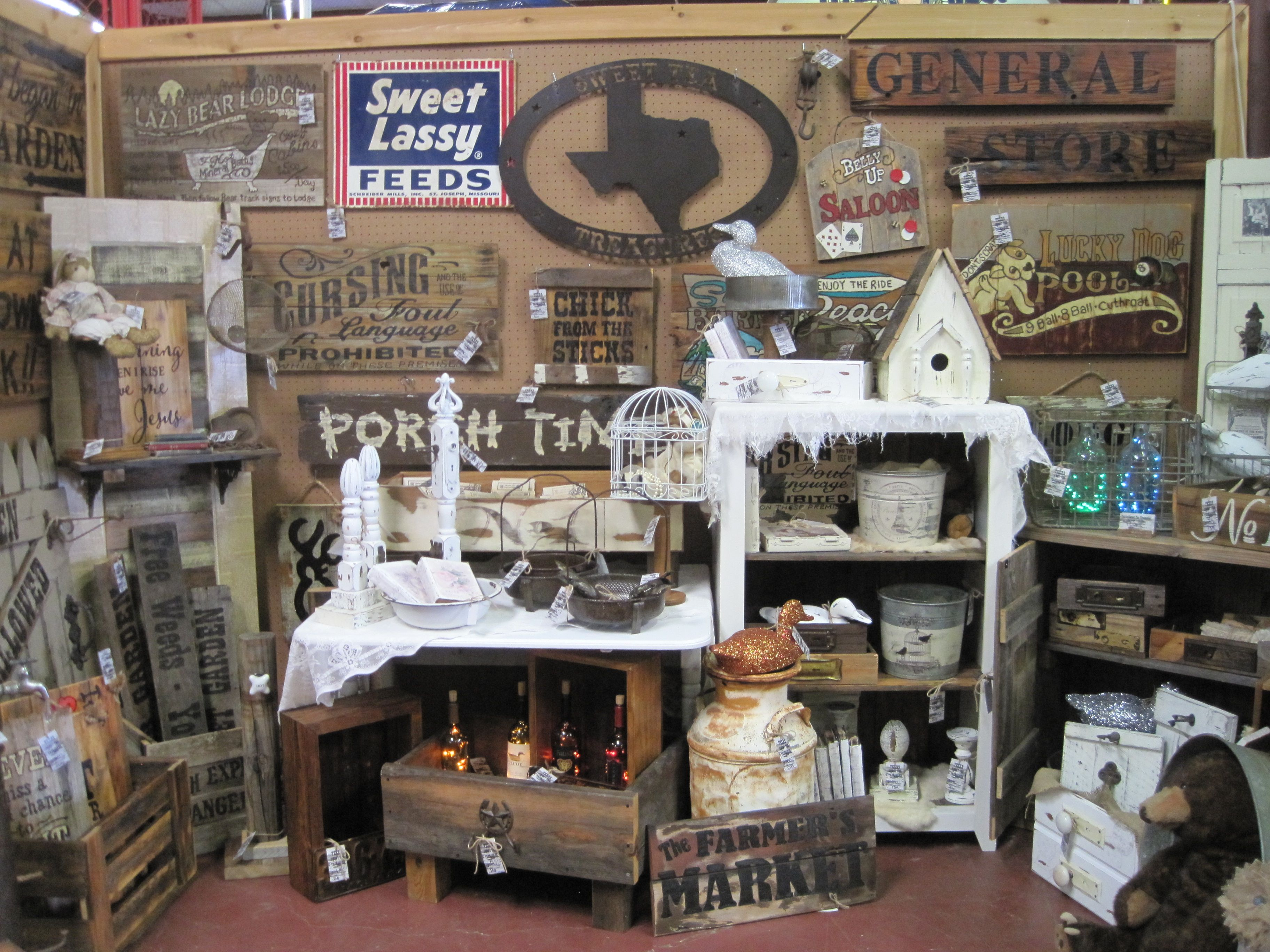 Added more to our booth at Random-Finds in Forney Texas!!