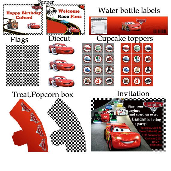 Pin By Mevla Ipek On Party Cars Birthday Party Disney Cars Theme Birthday Party Disney Cars Birthday