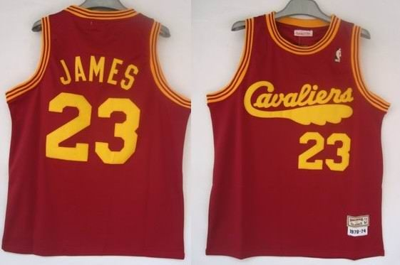 new arrival 36070 a1306 Cleveland Cavaliers #23 LeBron James Stitched Replithentic ...