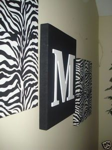 Attractive Zebra Wall Decoration (for My Front Room!)