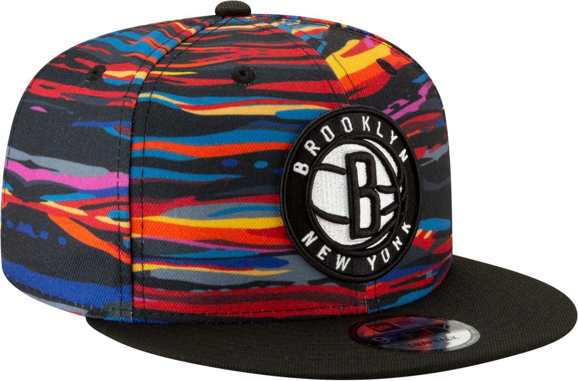 best service 87638 4675e New Era Men's Brooklyn Nets 9Fifty City Edition Adjustable ...