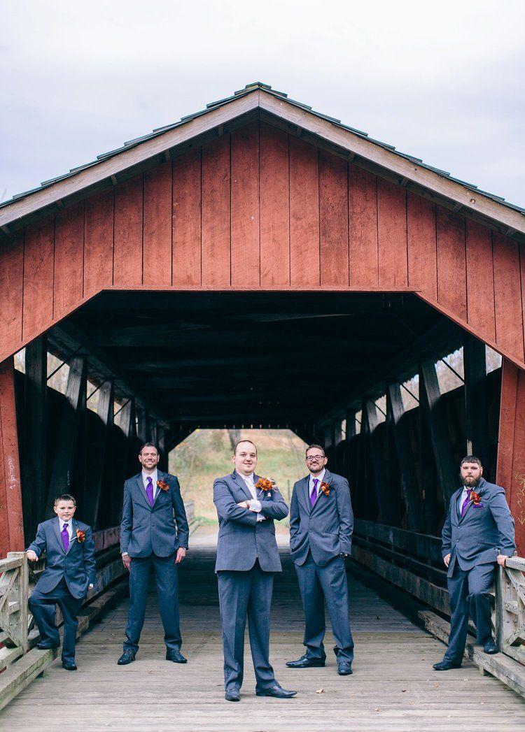 Ohio Wheeling WV wedding photographer Halloween themed Fall wedding photos  Shalese Danielle Photography