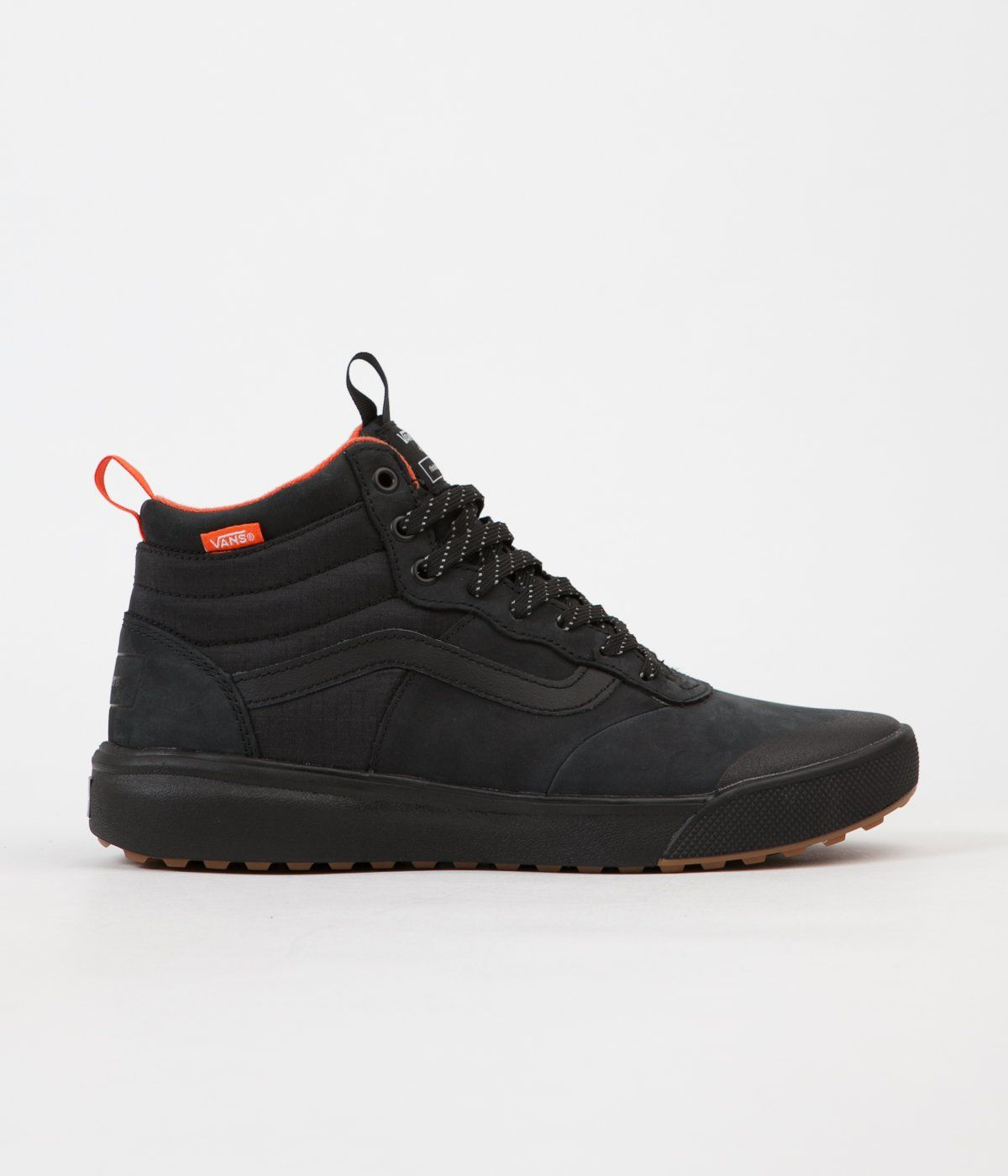68adcd8b71f5 Vans X Finisterre UltraRange Hi Shoes - Black   Nubuck