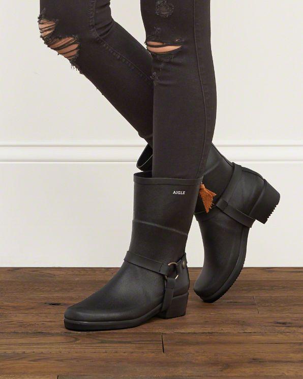 Womens Aigle Miss Julie Half Boot