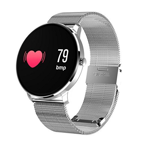 Ip68 Wasserdichte Intelligente Uhr Männer Metall Strap Ersatz Herz Rate Blutdruck Monitor Sns Benachrichtigungen Smartwatch Für Männer Neueste Technik Digitale Uhren Uhren