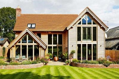 Oak Frame House And Oak Framed Homes | Oak Design And Build |  Oakwrights.co.uk | Cob U0026 Handcrafted Homes | Pinterest | House, Exterior  And Barn Part 70
