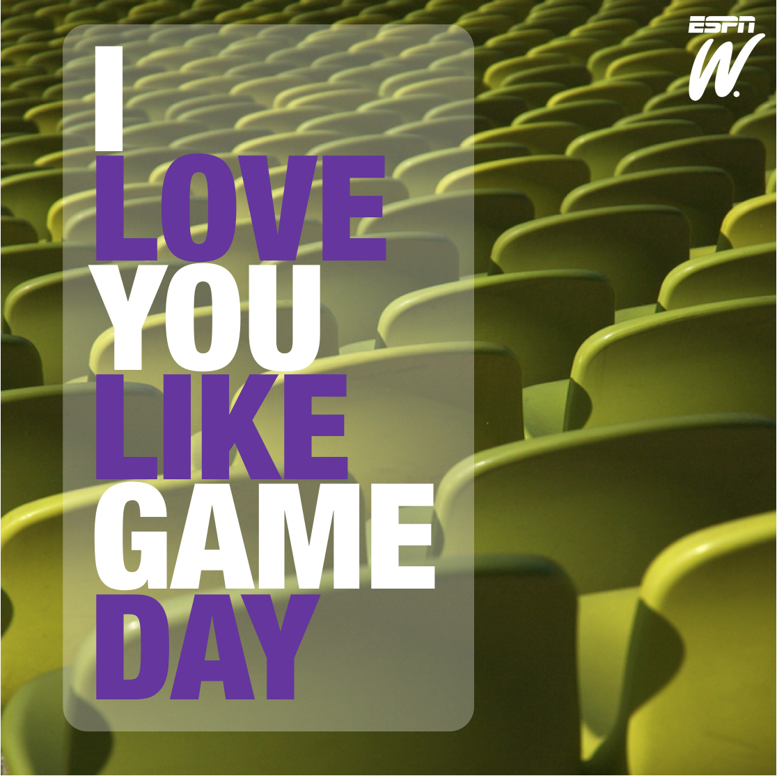 Game Day Quotes: Dear Valentine... Love You Like Game Day.