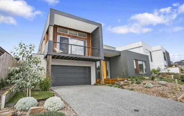 D33.6: Ground Floor - Custom design home on sloping block ...