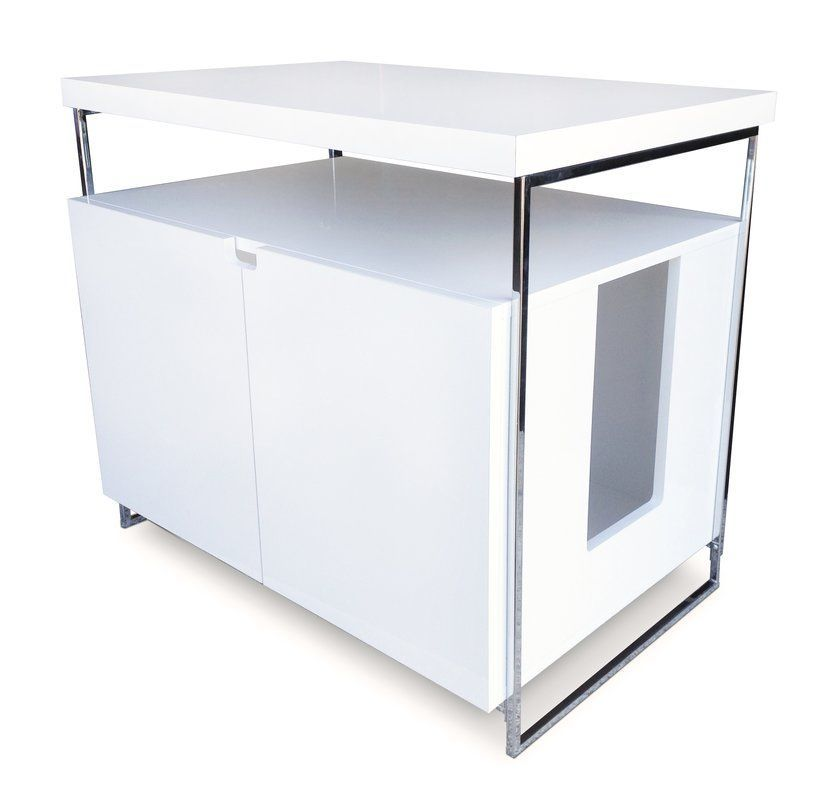 Modern Cat Designs Large Cat Litter Box Enclosure