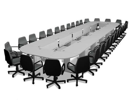 Veneer Big Large Conference Table Meeting Table Desk American