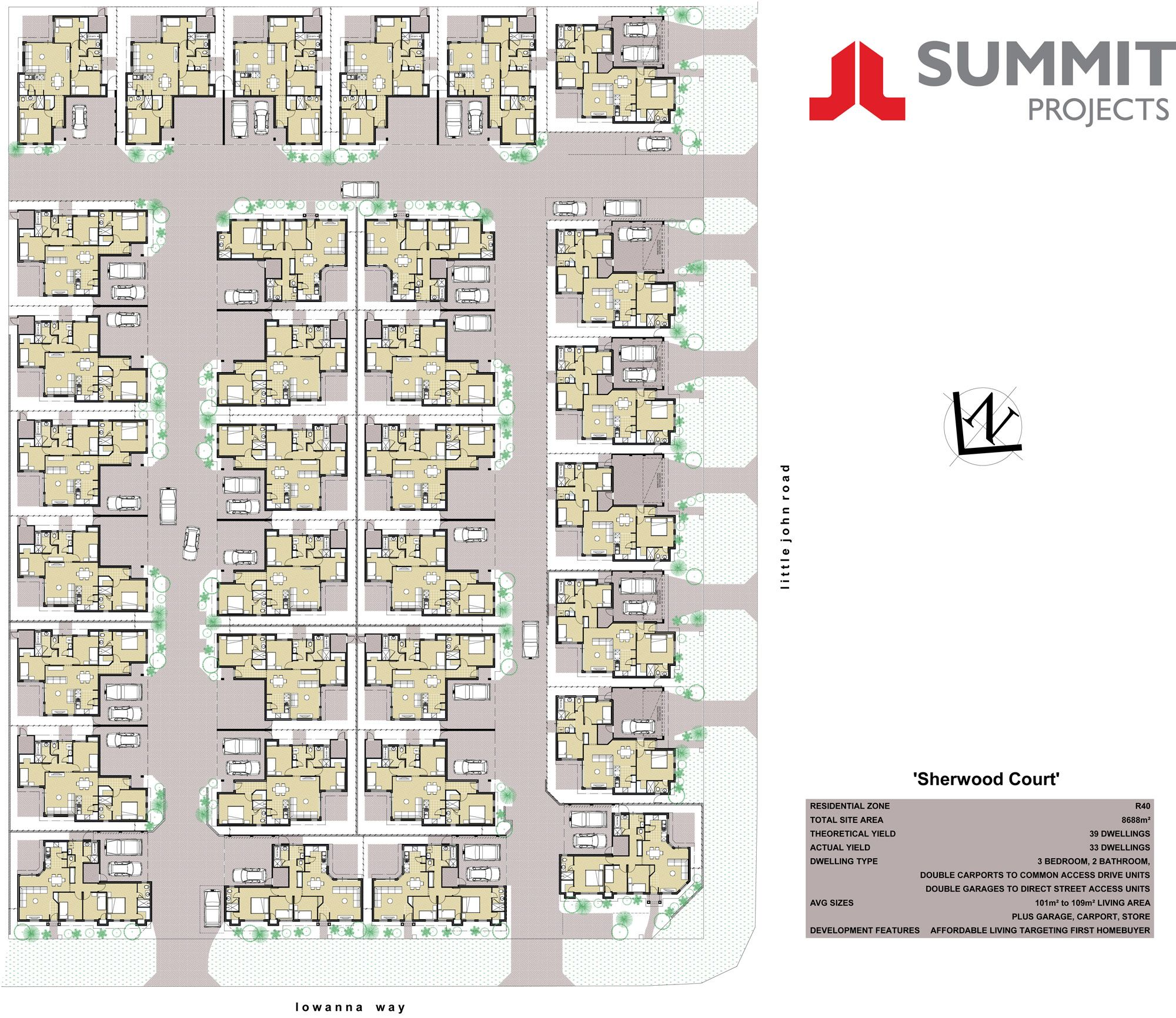floor plans for single storey multi units perth - Google Search ...
