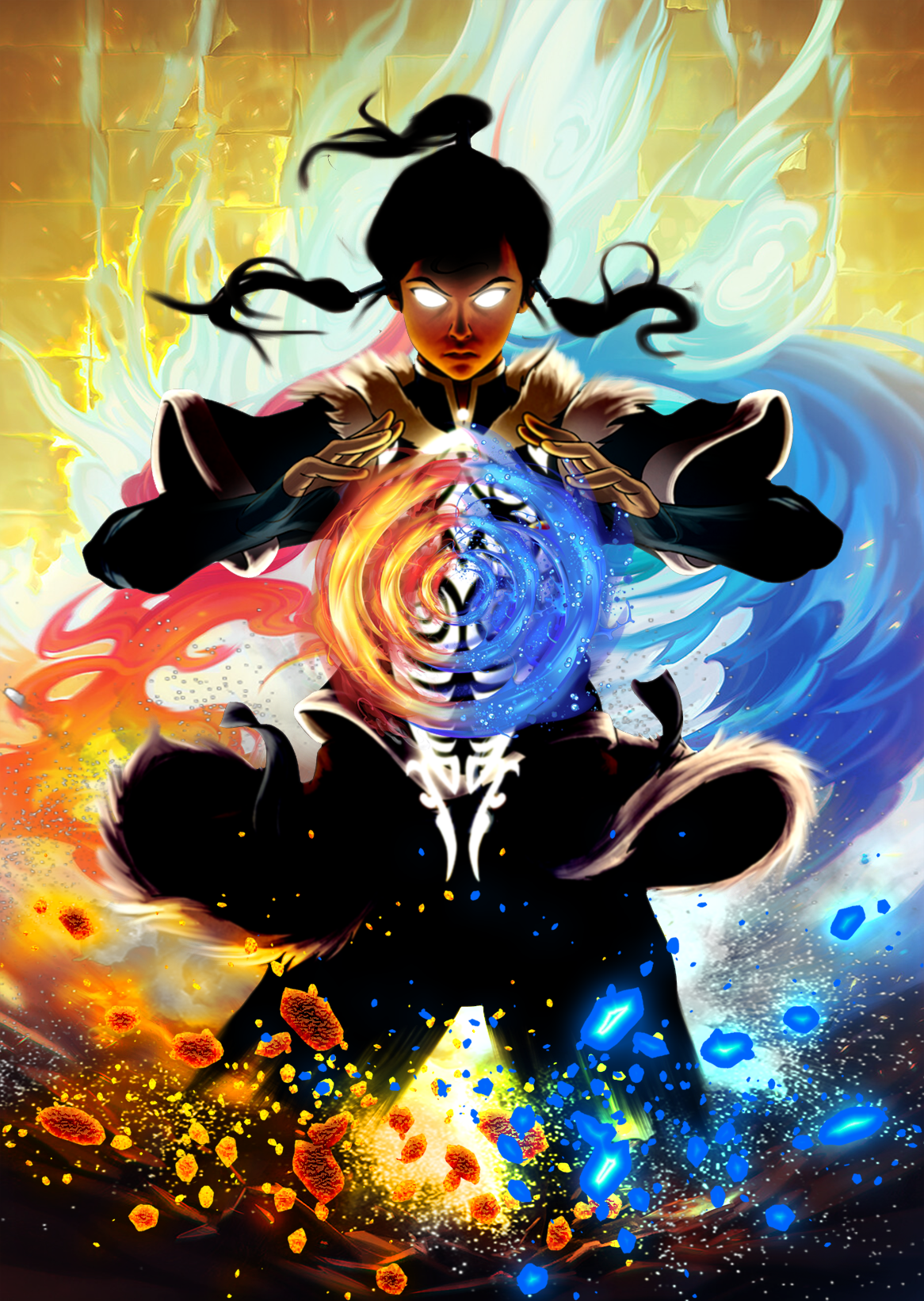 These Avatar The Last Airbender Posters Have All Elements The Last Airbender Avatar The Last Airbender Art Avatar Airbender