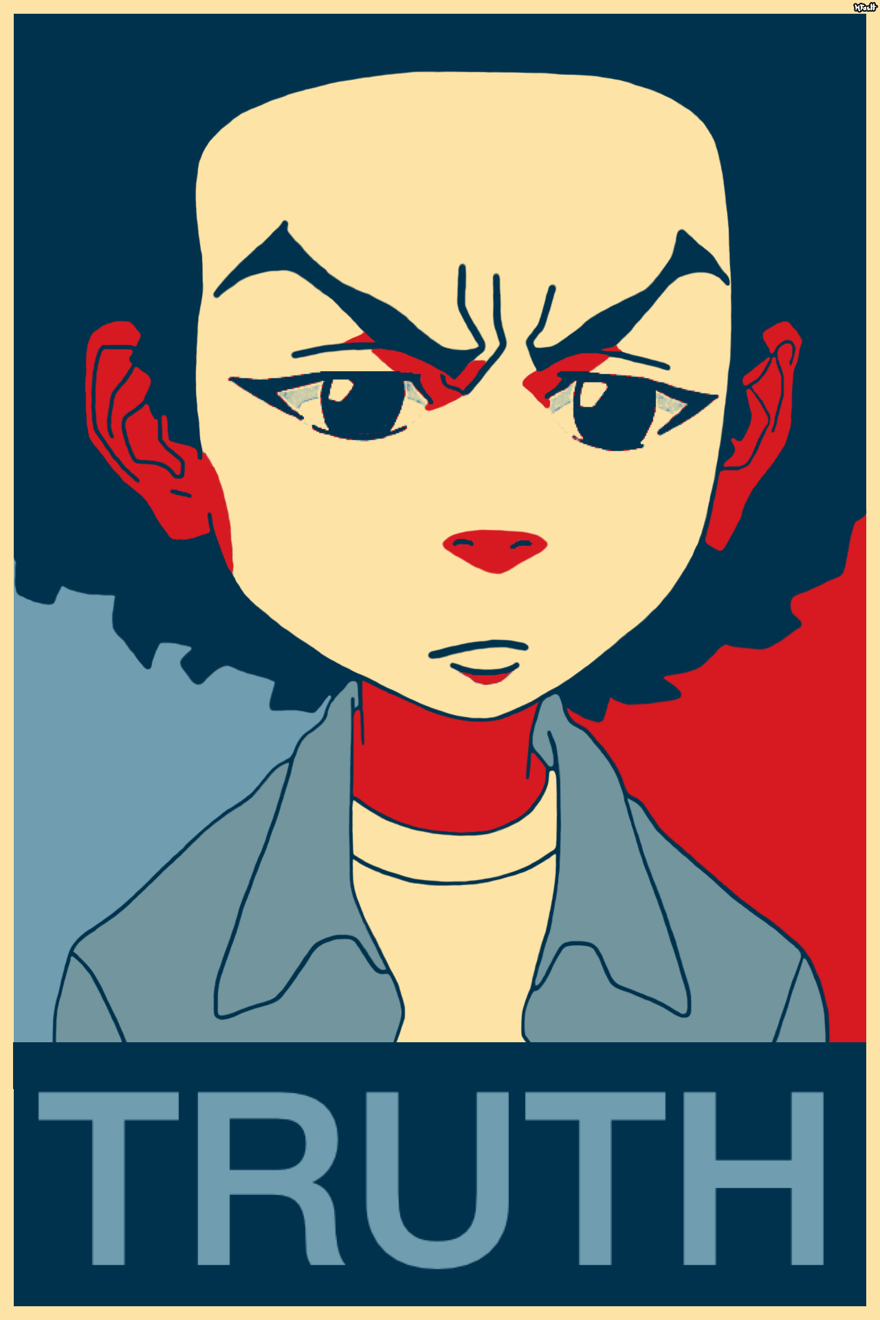 Huey Freeman Only Speaks The Truth Boondocks What People Need Is