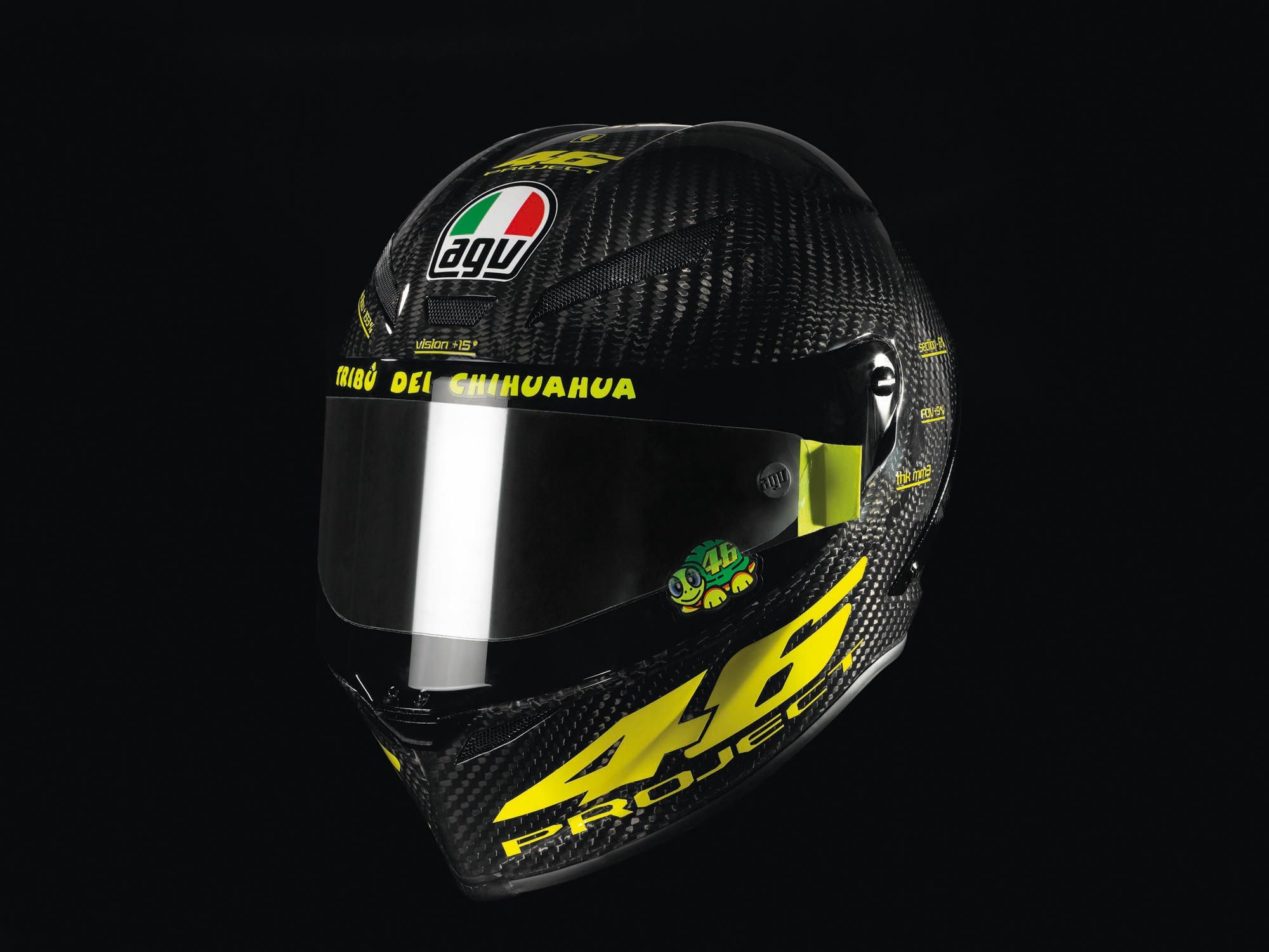26 Pubg Helmets Wallpapers: Valentino Rossi PistaGP Helmet By AGV