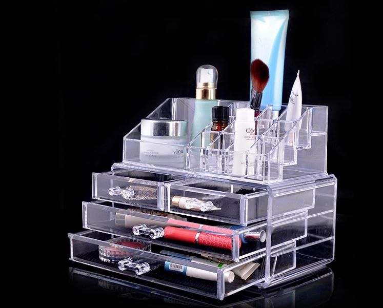 Acrylic Makeup Organizer Target Unique Khay Đựng Mỹ Phẩm Mica 4 Tầng  Bể Phao Câu Cá Cho Bé  Pinterest 2018