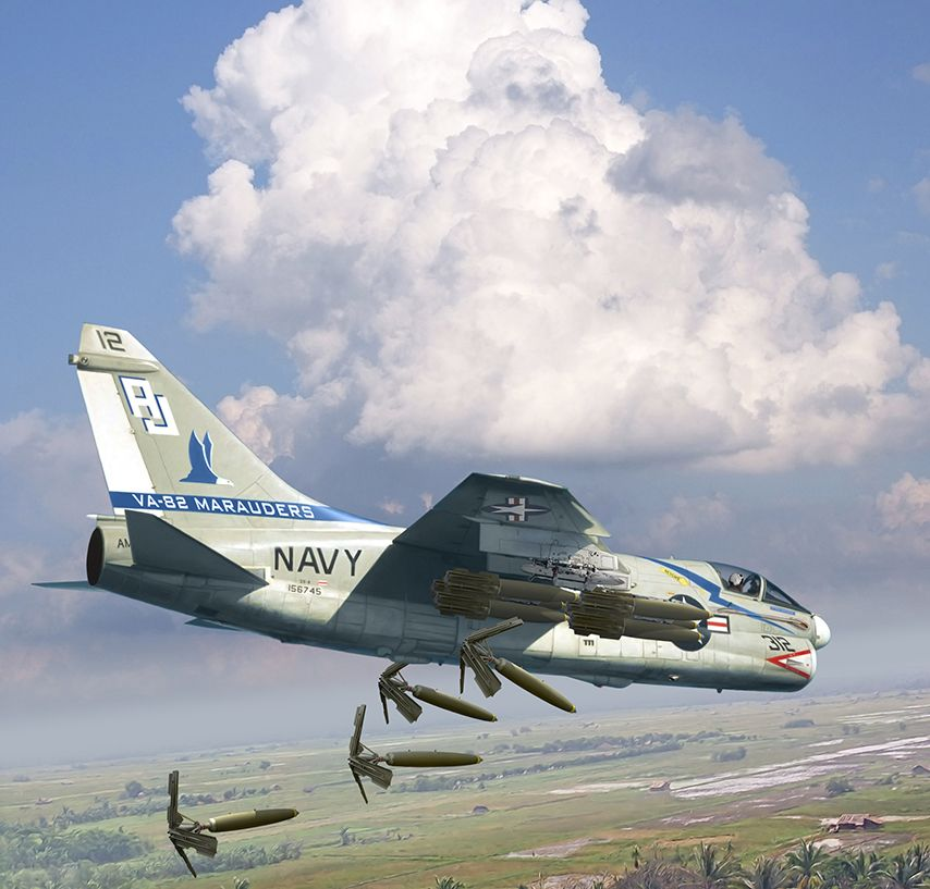 A7 Corsair 2, cortesía de Valery Petelín. Más en www.elgrancapitan ...