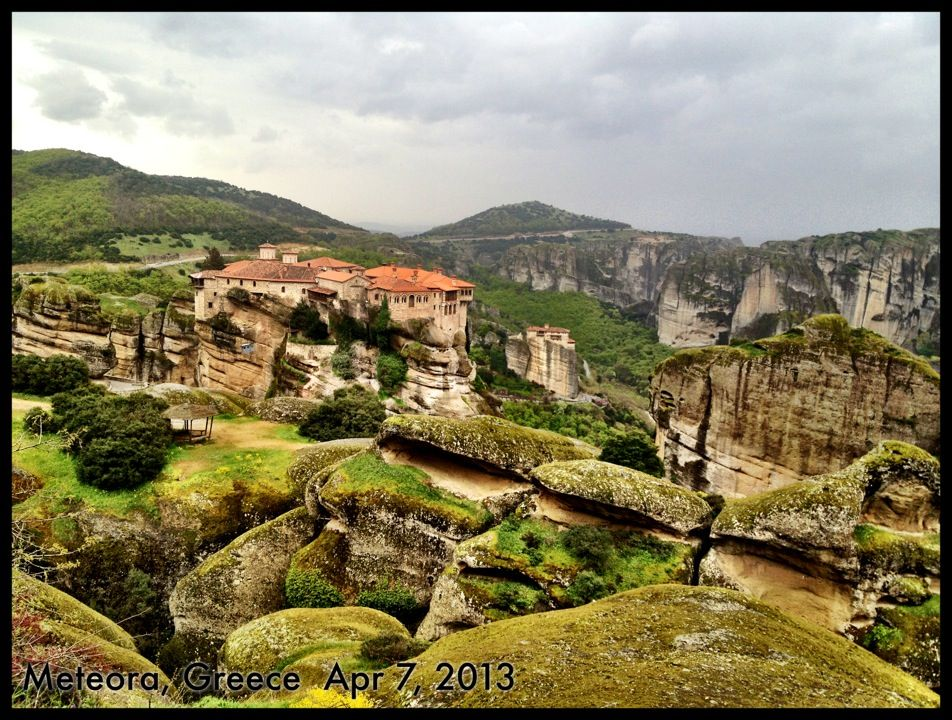Meteora Mobili ~ Meteora an ancient and mystical land where today monasteries