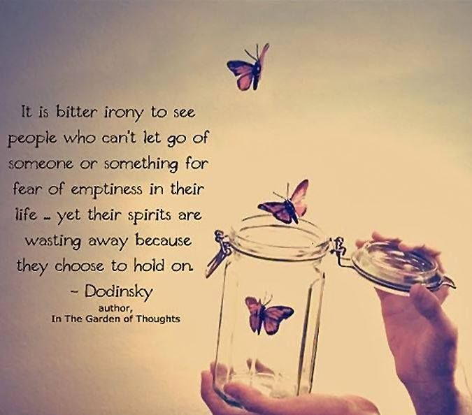 let it go, fear, life
