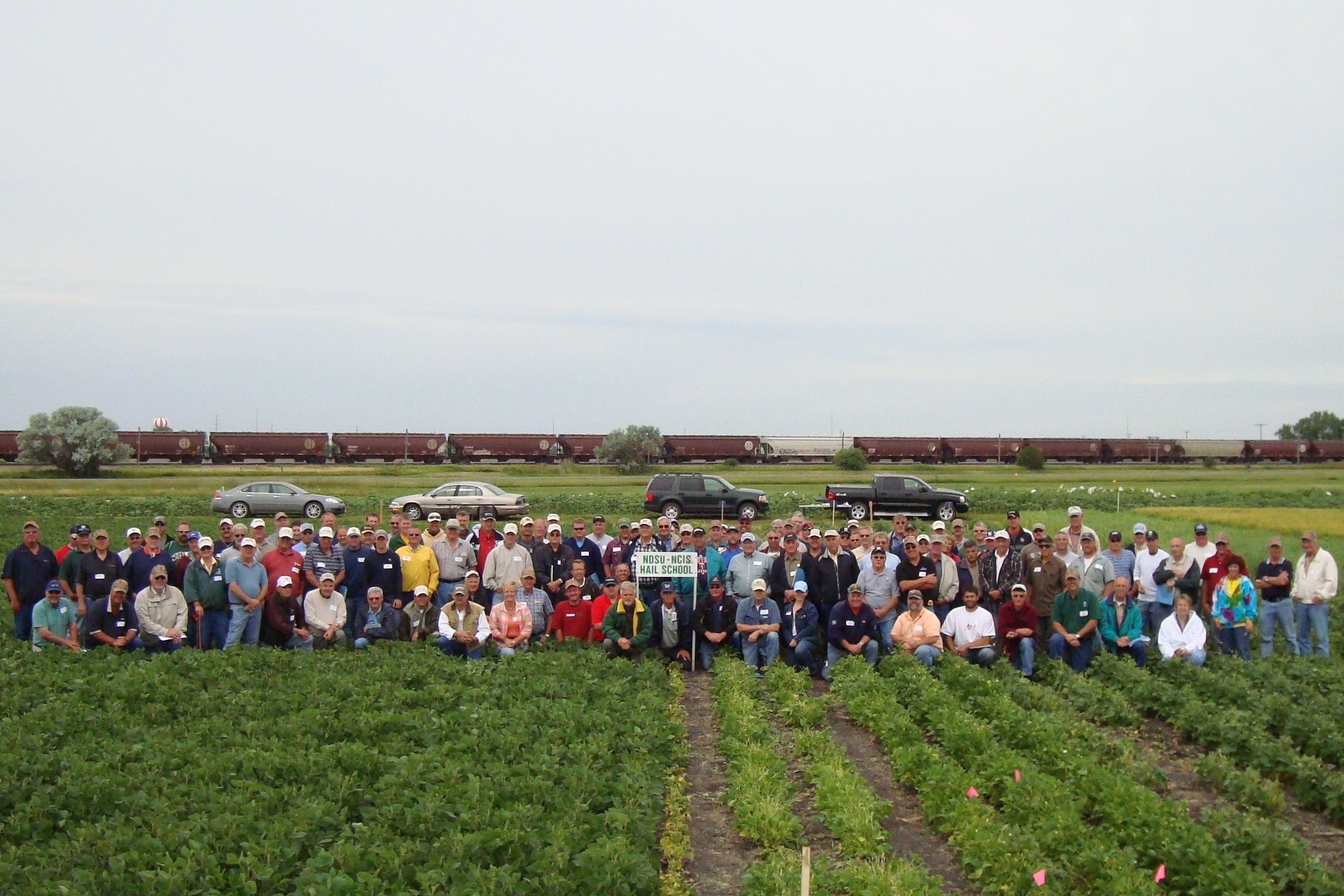 2009 NCIS Fargo, ND CropHail School CropInsurance (With