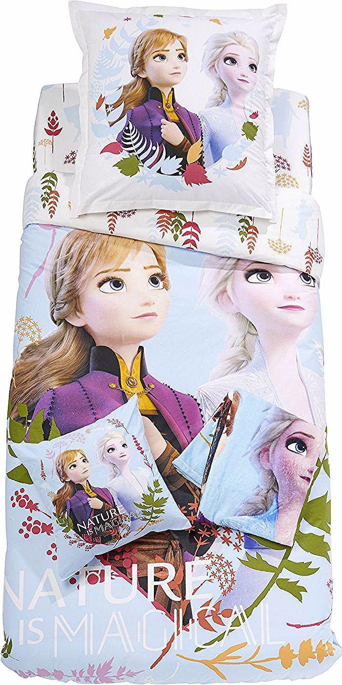 Parure De Lit Enfant Bleue Reine Des Neiges Housse De Couette 1 Taie D Oreiller En Coton 140x200cm 65x65cm Disn In 2020 Zelda Characters Character Princess Zelda