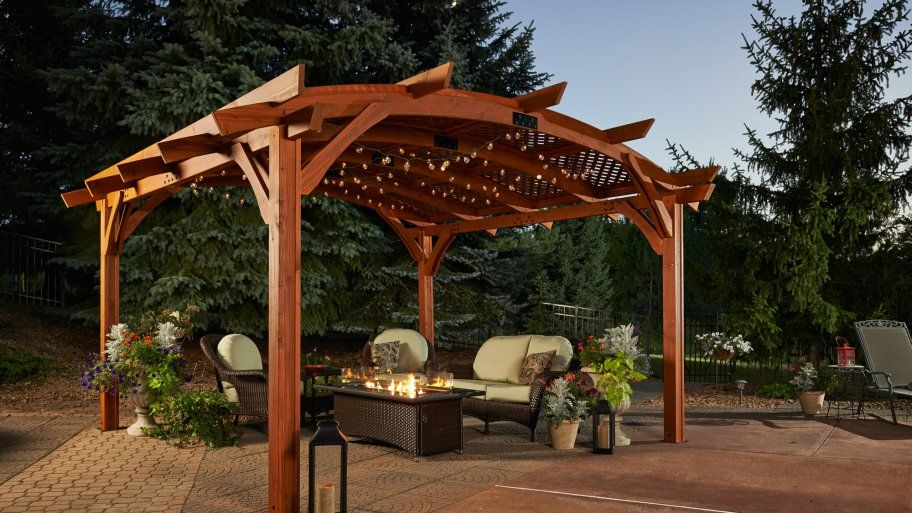 How Much Does It Cost To Build A Pergola Outdoor Pergola Building A Pergola Wood Pergola